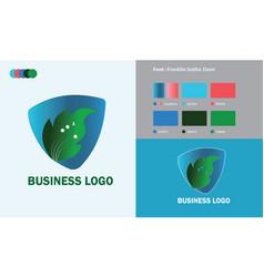 Business logo template design vector