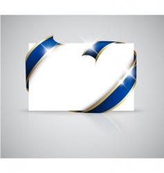 Christmas or wedding card vector image