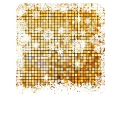 Cristmas background bright mosaic EPS 8 vector