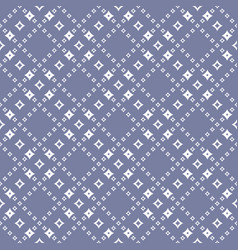 geometric seamless pattern with diamond shapes vector image
