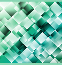 green abstract background with geometric pattern vector image