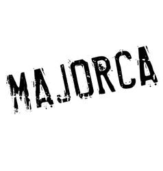 Majorca stamp rubber grunge vector