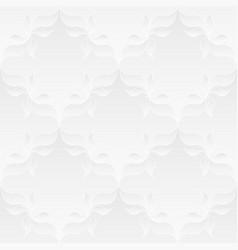 Neutral white floral texture vector