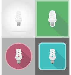 Power and energy flat icons 16 vector