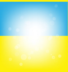 Blue yellow background vector image