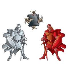 chess set kings vector image vector image