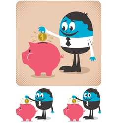 Savings vector image