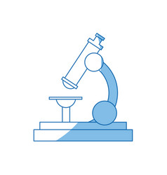 School microscope science biology icon vector