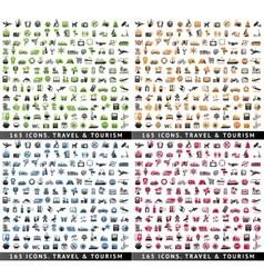 660 bicolor icons vector image