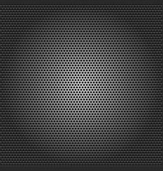 black metallic background vector image