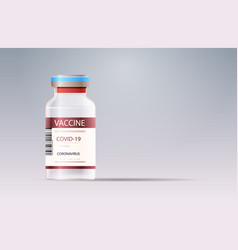 Bottle vial covid-19 vaccine injection vector