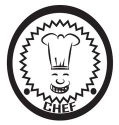 chef logo vector image