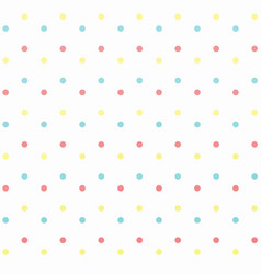 Colorful polkdots background vector