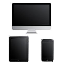 Contemporary Gadgets vector image