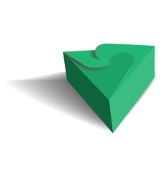 Cool Realistic Box vector image