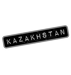 Kazakhstan rubber stamp vector