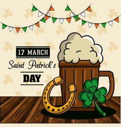 Saint patricks day cartoons vector