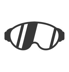 ski mask icon vector image