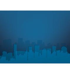 city night vector image vector image