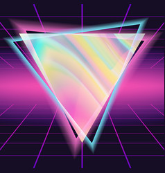 80s background 80s vintage style design vector image