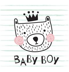 Bear baboy vector