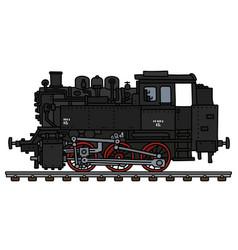 Classic tank engine locomotive vector