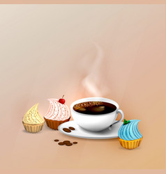 Coffee - coffe time - coffee break vector