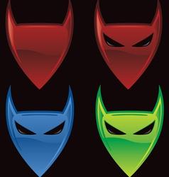 devil icon vector image