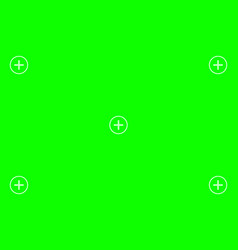 Green screen chroma key background vector