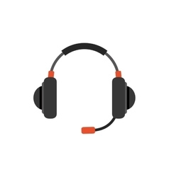 Headsets gaming device vector