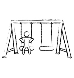 playground icon image vector image
