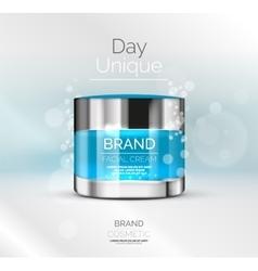 premium cream ads vector image