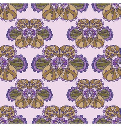seamless abstract lilac pattern vector image
