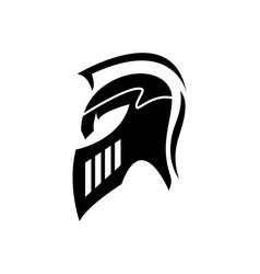 spartan logo template vector image