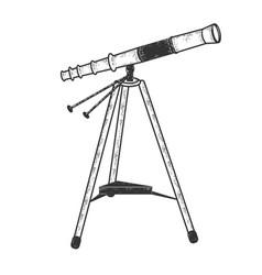 Telescope sketch vector