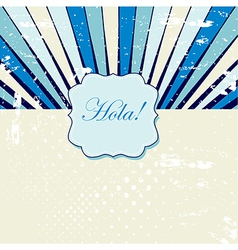 Rays pattern background vector image