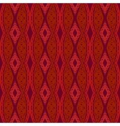 Stylized Uzbek ethnic pattern vector image
