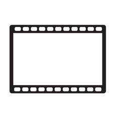 Movie icon on white background movie icon sign vector