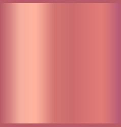 Rose gold gradient for fashion design vector