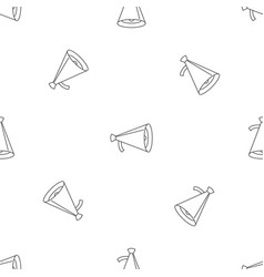 Small megaphone pattern seamless vector