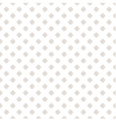 subtle seamless pattern white and beige vector image