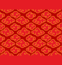 traditional oriental chinese clouds seamless vector image