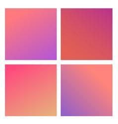 trendy color gradients vector image