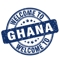 Welcome to ghana vector