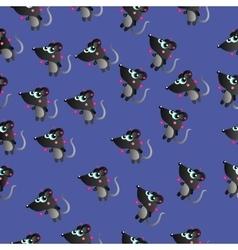 cute cartoon squirrel vector image