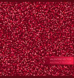 seamless pink heart spray texture vector image vector image
