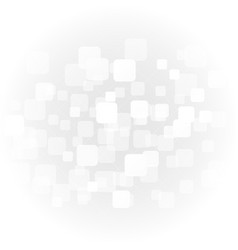 abstract white geometric shapes on background vector image