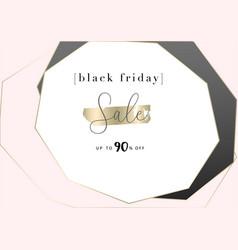 Black friday autumn elegant collection trendy chic vector