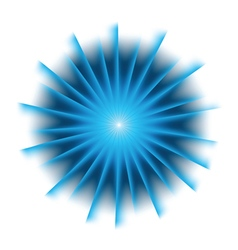 Explosion background with blue colors vector