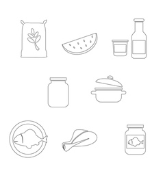 Farming Food and Agriculture Icon vector image